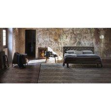 Двуспальная кожаная кровать Модель 88