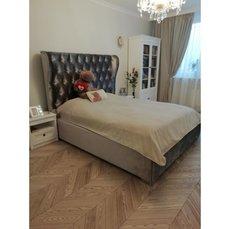 Двуспальная кровать с ушками es7
