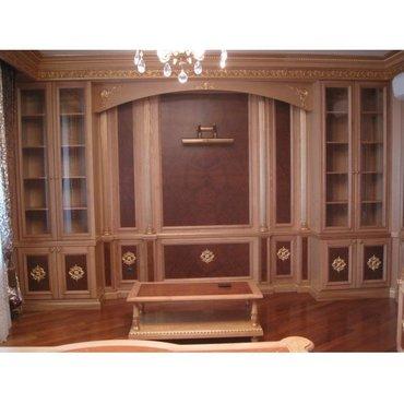 Деревянная мебель для кабинета
