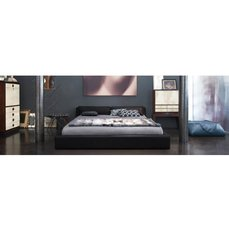 Двуспальная кожаная кровать Модель 22
