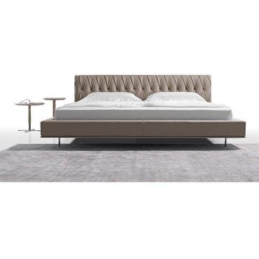 Двуспальная кожаная кровать Модель 29