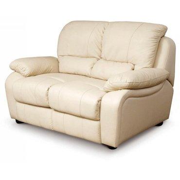 Кожаный диван реклайнер двухместный Alaska