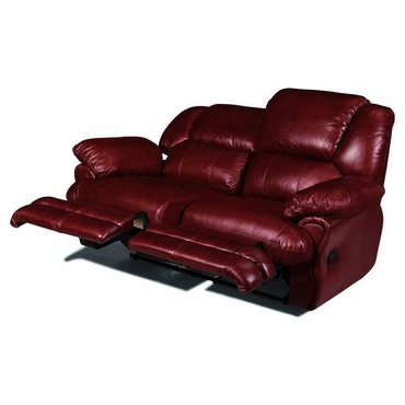 Кожаный диван реклайнер двухместный Indiana