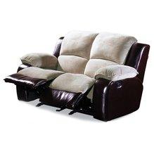 Кожаный диван реклайнер двухместный Louisiana