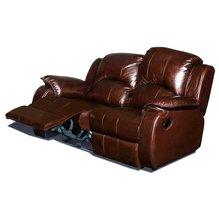 Кожаный диван реклайнер двухместный Minnesota