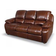 Кожаный диван реклайнер трехместный Alaska