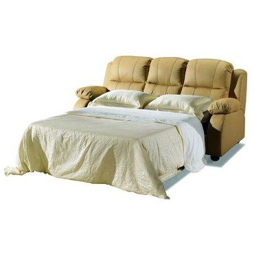Кожаный диван реклайнер трехместный Arizona
