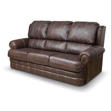 Кожаный диван реклайнер трехместный Kentuky