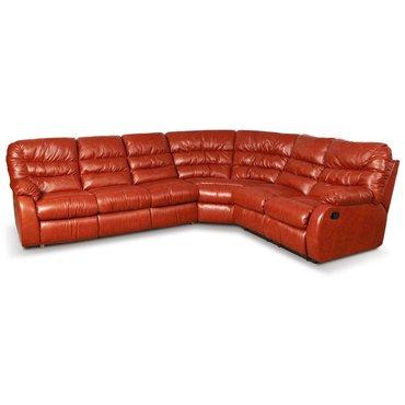 Угловой диван кожаный Dakota