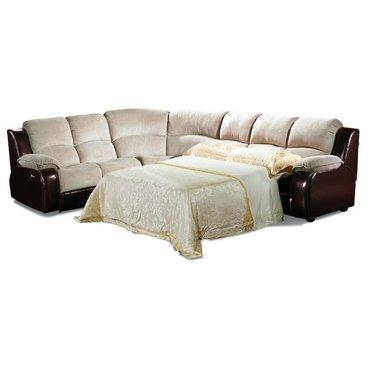 Угловой диван кожаный Louisiana