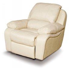 Кресло реклайнер кожаное Alaska