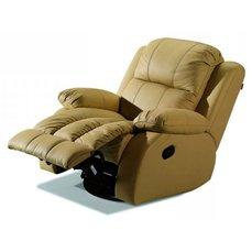 Кресло реклайнер кожаное Arizona