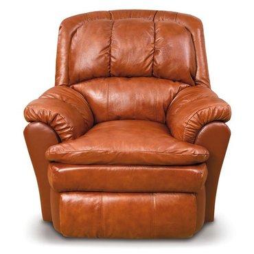 Кресло реклайнер кожаное Carolina