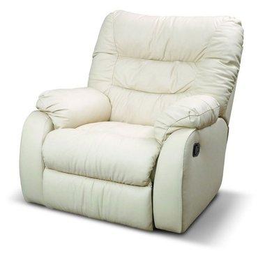 Кресло реклайнер кожаное Dakota