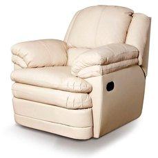Кресло реклайнер кожаное Georgia