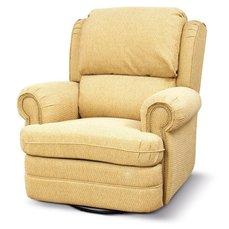 Кресло реклайнер кожаное Kentuky