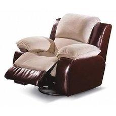 Кресло реклайнер кожаное Louisiana