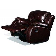 Кресло реклайнер кожаное Minnesota