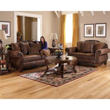 Комплект мягкой мебели Bradington Truffle 15400-35-38