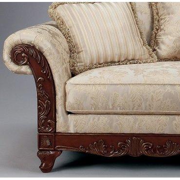 Диван двухместный Brilliance-Alabaster 18100-35