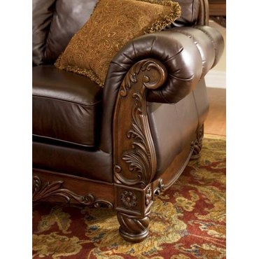 Диван двухместный North Shore-Dark Brown 22603-35