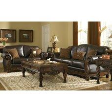 Комплект мягкой мебели North Shore-Dark Brown 22603-38-35