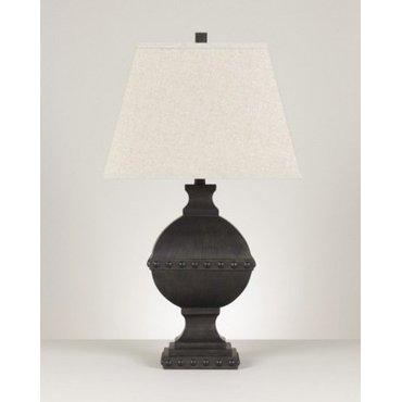 Настольная лампа с абажуром Quelsey L313334