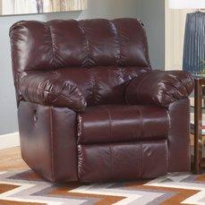 Кресло с реклайнером Kennard-Burgundy 29000-25