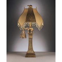 Настольная лампа с абажуром Dillian L324934