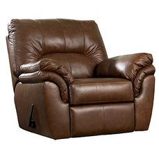 Кресло - качалка с реклайнером Warren - Brown 41301-25