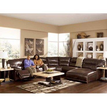 Клиновидный угол дивана Exhilaration-Chocolate 42401-77