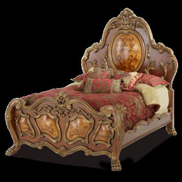 Деревянная кровать CHATEAU BEAUVAIS 75012-22-32