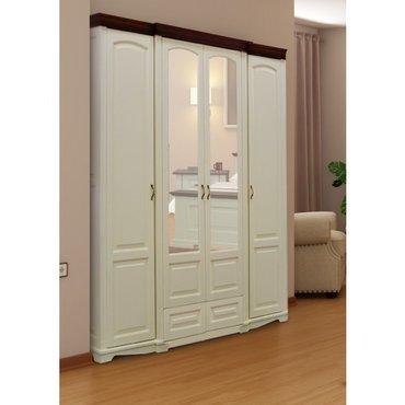 Шкаф 4-х дверный Адель