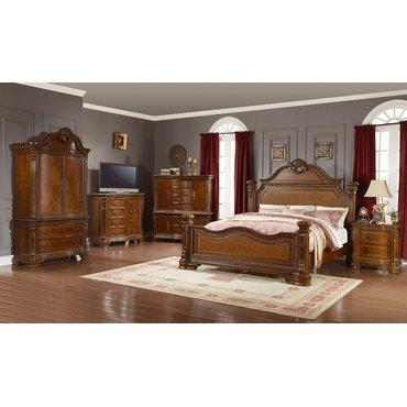 Деревянная кровать KING B3541-04-05-06