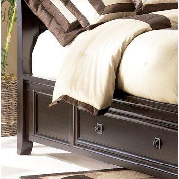 Деревянная кровать Queen Martini Suite с ящиком B551-74-75L-75R-77