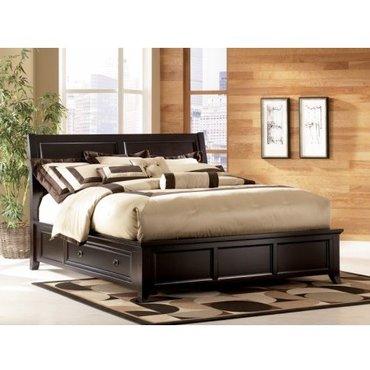 Деревянная кровать King Martini Suite с ящиком B551-76-78-79L-79R