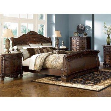 Деревянная кровать KING North Shore B553-76-78-79