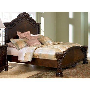 Деревянная кровать Queen North Shore B553-154-157-196