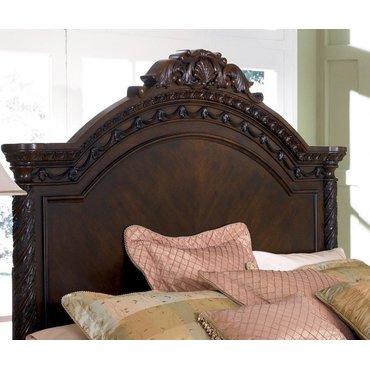 Деревянная кровать King North Shore B553-158-256-197