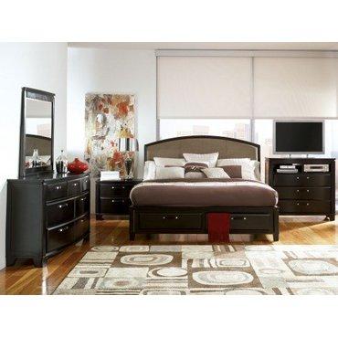 Деревянная кровать Ashey Emory Queen B569-77-98