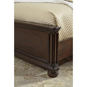 Деревянная кровать Moluxy Ashley B596-54-57-96