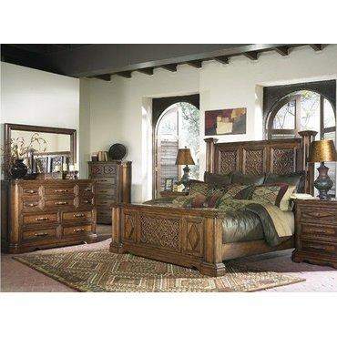 Деревянная кровать King Gladstone B612-56-8