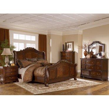 Деревянная кровать KING Lauran B615-56-58-97
