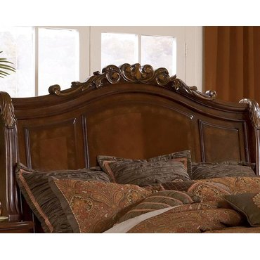 Деревянная кровать QUEEN Lauran B615-54-57-96