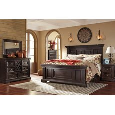 Деревянная кровать Willenburg Ashley B643-54-57-96