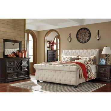 Деревянная кровать Willenburg Ashley B643-76-78-99
