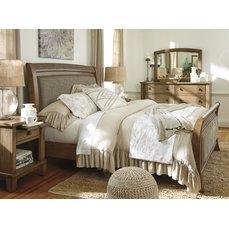 Деревянная кровать Ashley Tamburg King B655-56-58-97