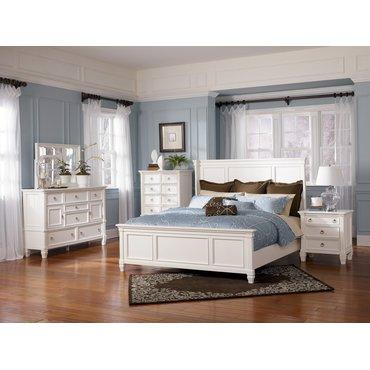 Деревянная кровать King Prentice B672-56-58-97
