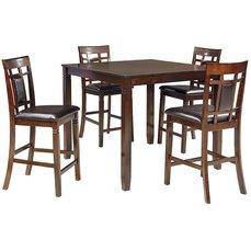 Барный стол со стульями D384-223