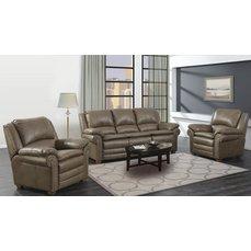 Комплект мягкой мебели Arimax Clark коричневый